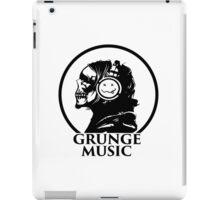 GRUNGE MUSIC iPad Case/Skin