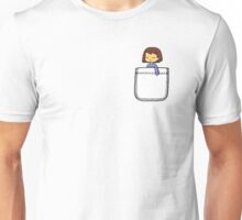 Frisk in the Pocket (v2) - Undertale Unisex T-Shirt