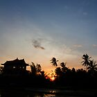 A Balinese Sunset  by Madeline Snow