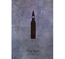 The Hunt Minimalist Poster Photographic Print