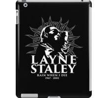 Layne Staley iPad Case/Skin