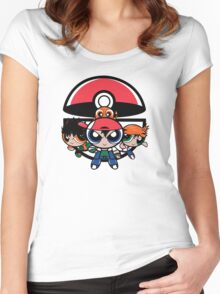 Pokepuff Kids Women's Fitted Scoop T-Shirt