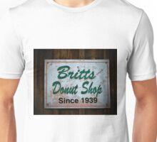 Britt's Donut Shop Sign 1 Unisex T-Shirt