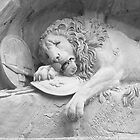 Dying Lion of Luzern - Löwendenkmal by PrivateVices