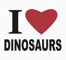 I Heart Dinosaurs by sweetsixty