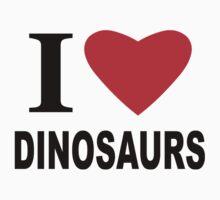 I Heart Dinosaurs by sweetsixty