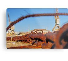 Cockatoo Island - Rust Metal Print