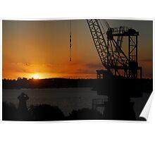 Cockatoo Island - Sunset Poster
