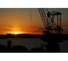 Cockatoo Island - Sunset Photographic Print