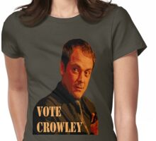Vote Crowley  Womens Fitted T-Shirt