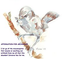 Affirmation for ABUNDANCE 2 by Maree  Clarkson