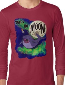 Space Whale Long Sleeve T-Shirt