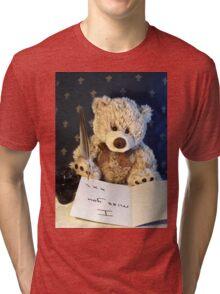 Missing you already Tri-blend T-Shirt
