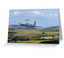 RAF Mosquito - Train Buster Greeting Card