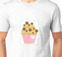 cross stitch chocolate chip muffin Unisex T-Shirt