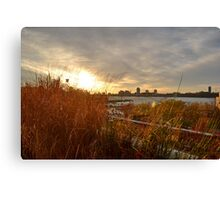 Sunset on The High Line Canvas Print
