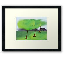 Warm Wind Framed Print