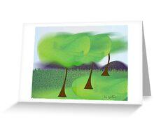 Warm Wind Greeting Card