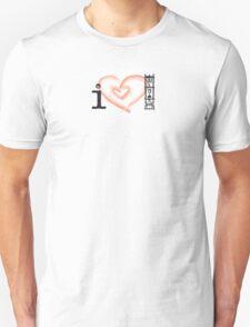 I Love Cold Drip  T-Shirt