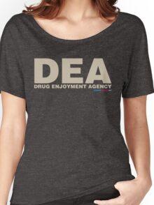 DEA Drug Enjoyment Agency Women's Relaxed Fit T-Shirt