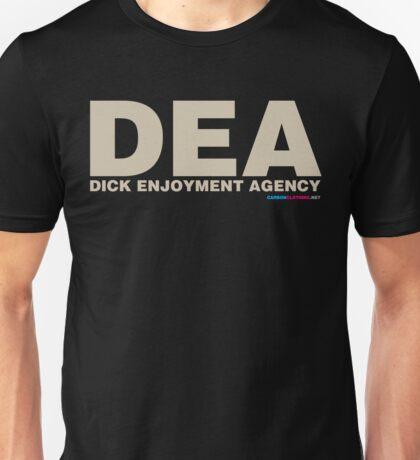 DEA Dick Enjoyment Agency Unisex T-Shirt