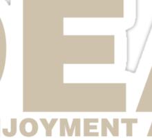 DEA Dick Enjoyment Agency Sticker