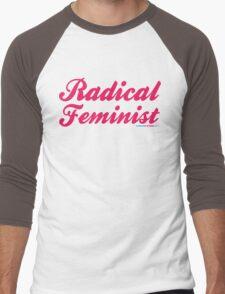 Radical Feminist Men's Baseball ¾ T-Shirt