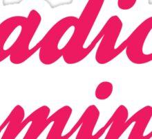 Radical Feminist Sticker