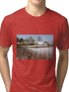 Snow Comes South Tri-blend T-Shirt