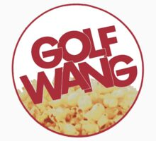 Golf wang popcorn t shirt  by Calvin Clarke