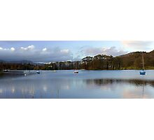Lake Coniston Panorama Photographic Print