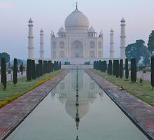 Incredible India - Taj Mahal by kelliejane