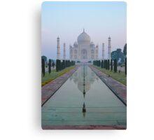 Incredible India - Taj Mahal Canvas Print