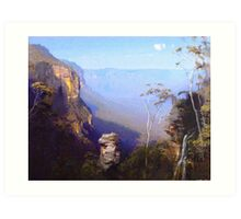 From Wentworth Falls Art Print