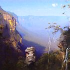 From Wentworth Falls by graham-krysten