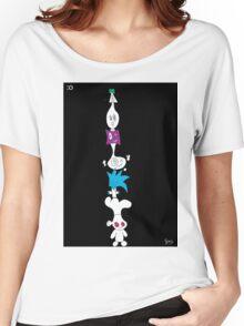 Cartoon Tower Women's Relaxed Fit T-Shirt