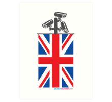 British CCTV Freedom Art Print