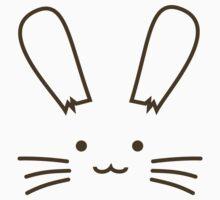 Bunny Face by rabbitbunnies