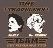 Time Travelers team by Buby87