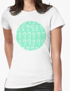 mint tulips Womens Fitted T-Shirt