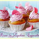 Rose & Lychee Cupcakes by ©The Creative  Minds
