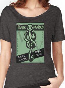 Edible Dark Marks Women's Relaxed Fit T-Shirt
