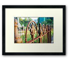 Gore Hill Cemetery Framed Print