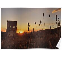 Sunset over the Furnace Poster