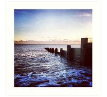 Felpham Beach, West Sussex Art Print