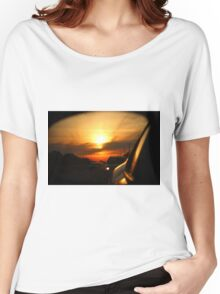 Leaving Sunset Behind Women's Relaxed Fit T-Shirt