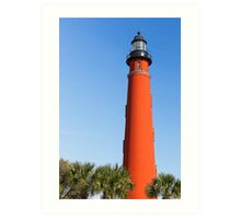 Lighthouse at Ponce Inlet Art Print