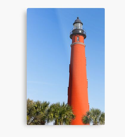 Lighthouse at Ponce Inlet Metal Print