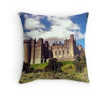 Arundel Castle, West Sussex Throw Pillow