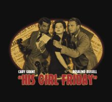 Cary Grant His Girl Friday T-Shirt by OutlawOutfitter